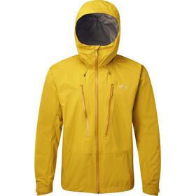 Rab Downpour Alpine Jacket Men, amarillo